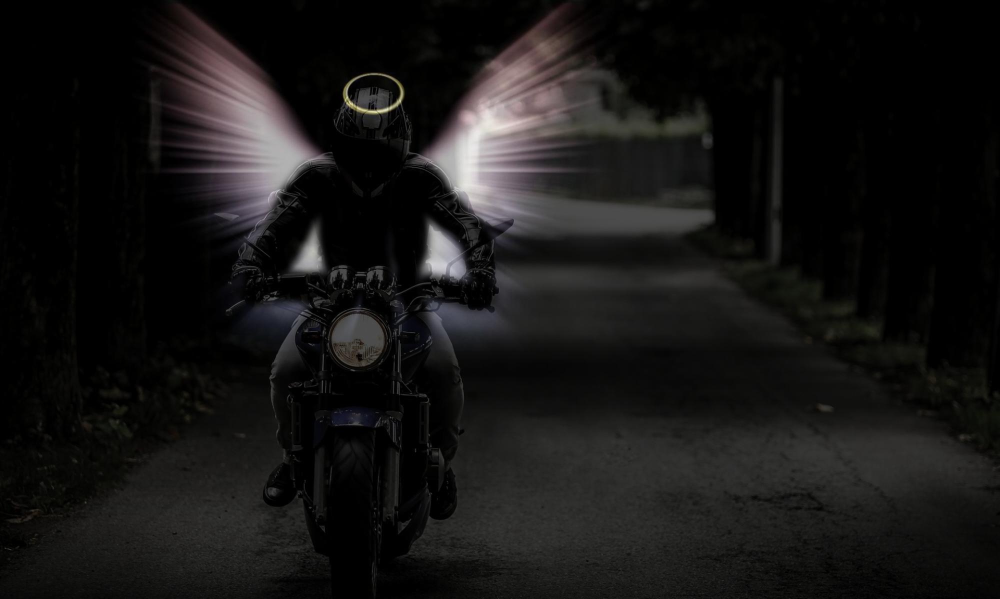 Motoros angyal